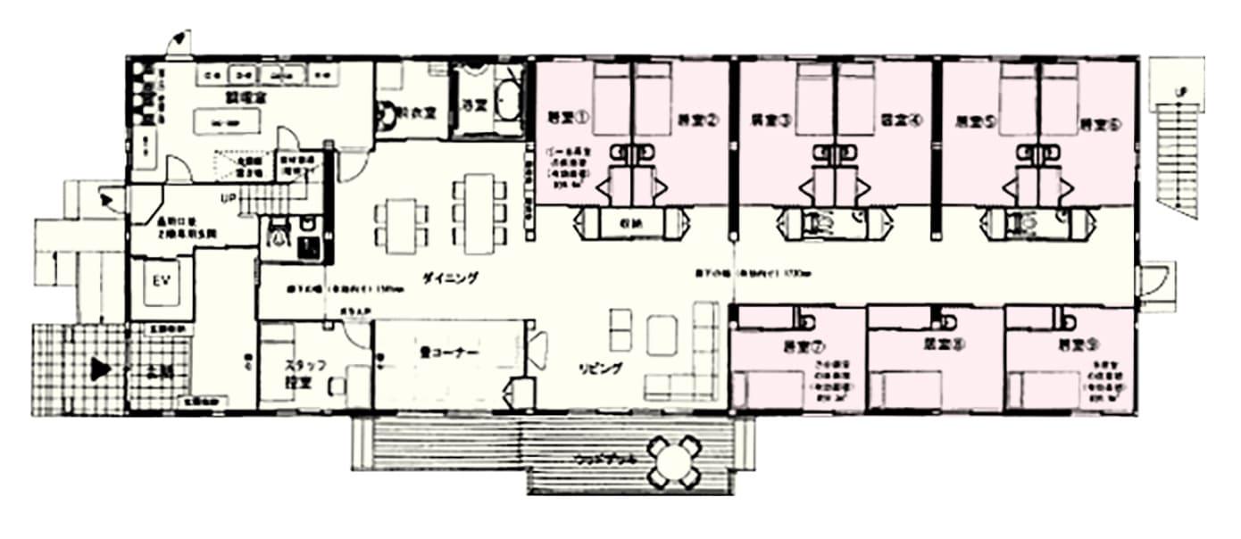 【1F】施設案内図