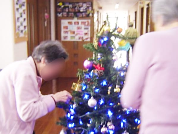 入居者の様子(クリスマス)